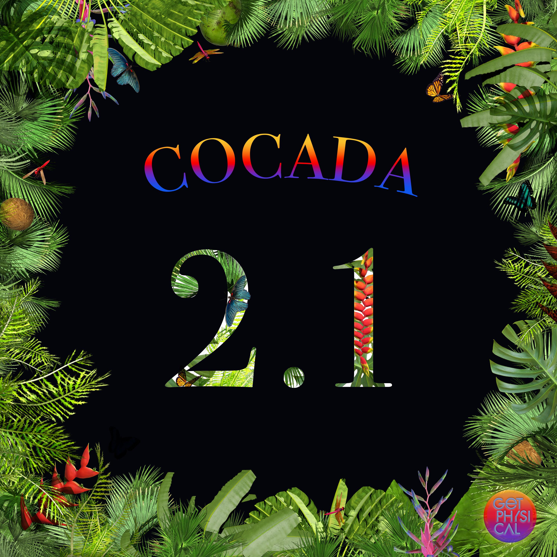 Foto da capa do EP Cocada 2.1 da gravadora Get Physical com Bruce Leroys