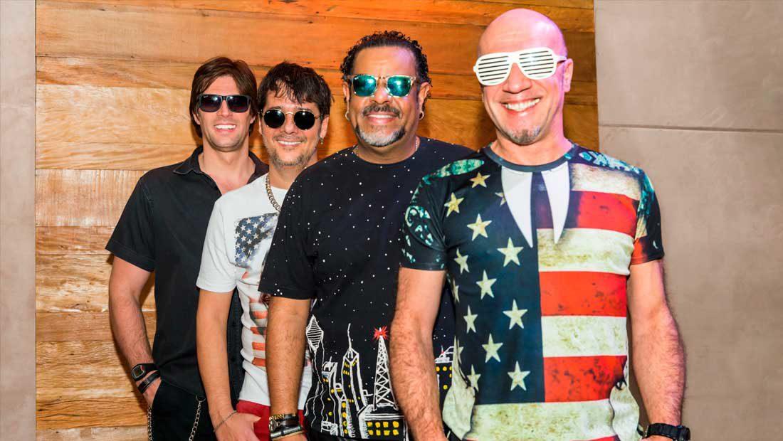 Foto da banda de pop-rock Junkie Box